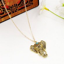 Bohemian Ethnic Style Alloy Elephant Choker Necklace Vintage Hollow Out Clavicle Chain Necklace Fashion Jewelry Gifts For Women punk style alloy hollow out body chain for women