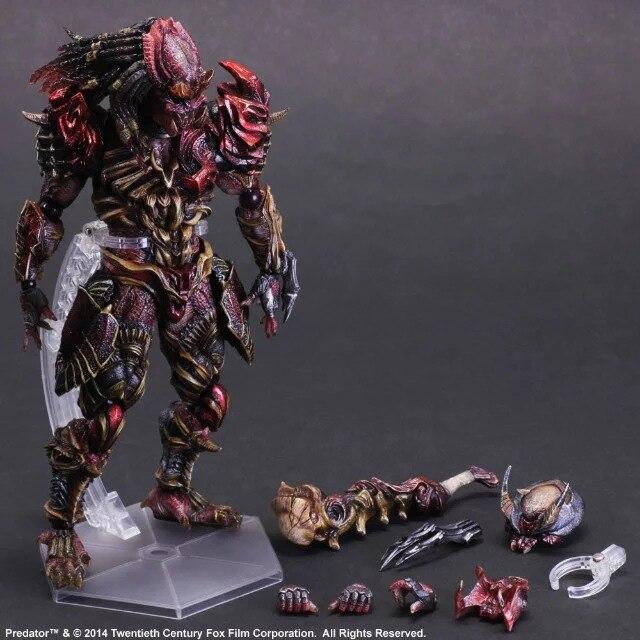 Jeu Arts Kai prédateur Figure Alien chasseur Primevil Figure PA 27cm PVC Action Figure poupée jouets enfants cadeau