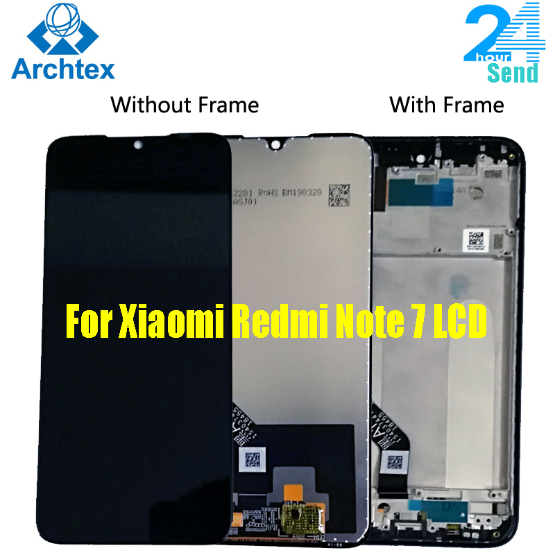 AAA + für <font><b>Xiaomi</b></font> Redmi Hinweis <font><b>7</b></font> <font><b>LCD</b></font> Display Bildschirm Touch Digitizer Montage Redmi Note7 Pro <font><b>LCD</b></font> Display 10 Touch reparatur Teile image