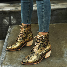 Women Ankle Boots Mid Heels Shoes Woman Chaussure Pointed Toe Zapatos Mujer Sapato Lace Up Gladiator PU Leather Booties WXZ084 prova perfetto new style pointed toe mid heels boots zapatos mujer tacon ankle boots real leather buckle woman chelsea boots