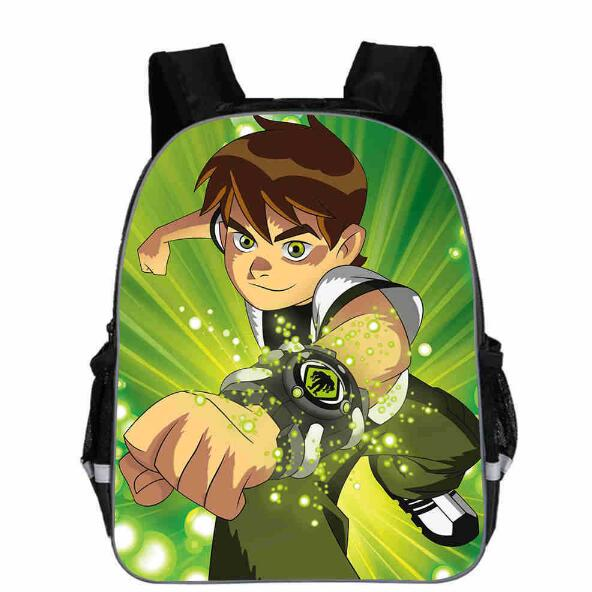Ben 10 Backpacks High Quality Backpack Children School Boys and Girls Back To School Bags Cartoon Bag
