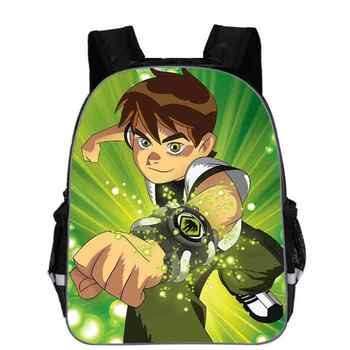 Ben 10 Backpacks High Quality Backpack Children School Boys and Girls Back To School Bags Cartoon Bag - DISCOUNT ITEM  48% OFF All Category