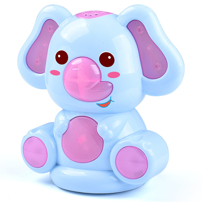 Baby Toys Doll Educational Toys Mobile Elephant Story Rattles Children's Toys Mobile Glowing Sing Dance On The Bed