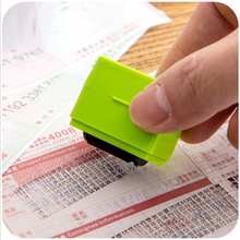 Messy Code Identity Handcrafts Wedding Invitations Decorate Privacy Information Coverage Confidentiality Roller Stamp
