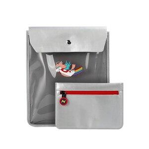 Image 5 - Nohoo crianças sacos de escola primária 3d dos desenhos animados unicórnio mochila escolar meninos dinossauro à prova dwaterproof água mochila para meninas