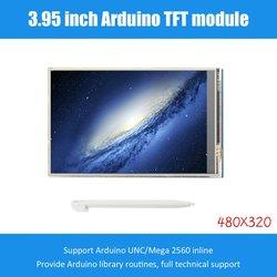 3.95 cal wyświetlacz TFT LCD ekran dotykowy 480X320 CH340G Mega 2560 R3 zarząd na Arduino wymiana ekranu w Wyświetlacze od Elektronika użytkowa na