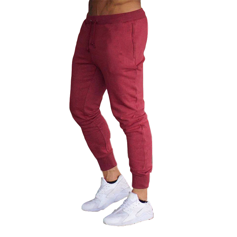 2020 New Autumn Brand Mens Joggers Pants Cotton Streetwear Sweatpant Gym Sporting Trousers Fitness Bodybuilding Sweat Pants