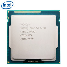 Intel Core i5-3470S i5 3470S 2.9GHz Quad-Core CPU Processor 6M 65W LGA 1155 tested 100% working