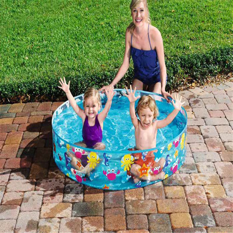 Children 's Wading Pool Above Ground Hard Plastic Family Pool Fish Kids Piscina Toddler Games Baby Swimming Outdoor Accessories