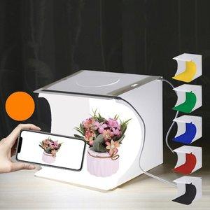 Led Light Highlight Portable Simple Folding Studio Small Photo Props Photography Equipment Soft Light Shooting Platform