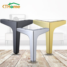 4pcs Black Gold Coffee Table Legs for Metal Furniture Sofa Bed Chair Leg Iron Desk Cabinet To The Dresser Foot Bathroom