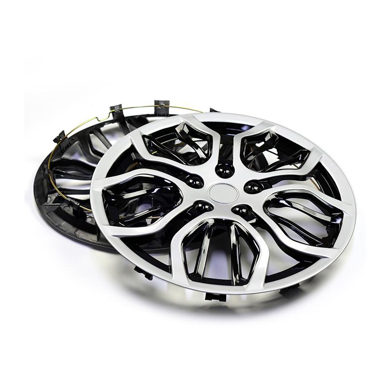 1 Piece 14 Wheel Hub Cap Cover R14 Rim Center Cover Universal 10 Wheel Spoke Clip on Hubcap For Car Refit