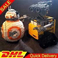 LP 16003 Idea Robot E WALL leleings 05128 The B Double B 8 Robot Set Building Blocks Bricks lepinings Toys Clone 21303 75187