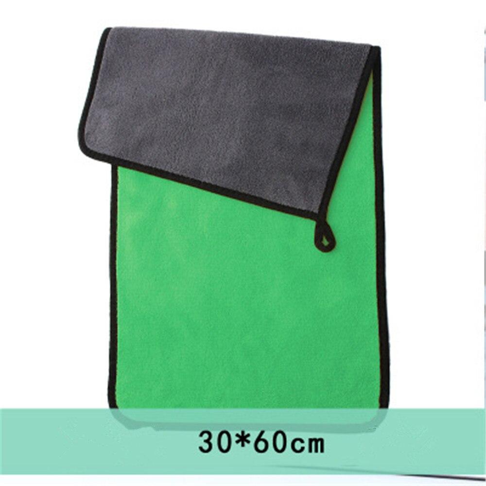 Microfiber Towel Car Wash For Auto Microfiber Glinka Samochodowa Glinka Samochodowa Gamuza Coche Velgen Borstel Greenway 500gsm