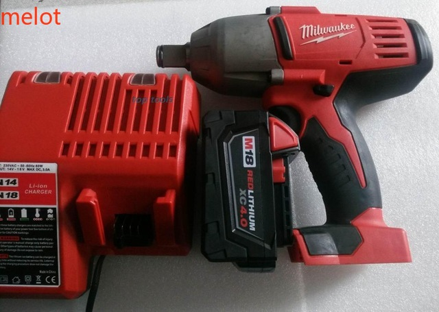 used 9 8 into the new Milwaukee 18V 2663 20 heavy duty gun  impact wrench