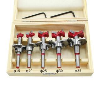 Инструмент для сверления отверстий в дверях из цементированного карбида 5 шт. шаблон позиционера сверлильный зажим для петель Регулируемая...