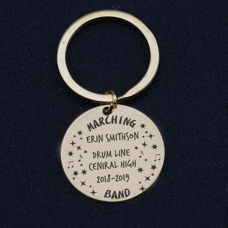 12 Key Chain For Hand Stamping Hand Stamping Supplies Smooth Blanks Key Tag 100 Key Fob