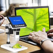LCD Digital Microscope 4.3 inch 50X-1000X Magnification Zoom HD 1080P 2 Megapixels Compound USB Video Camera Microscope