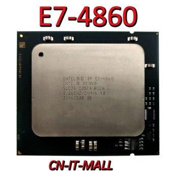Pulled Xeon E7-4860 Server cpu 2.26G 24M 10Core 20 Thread LGA1567 Processor