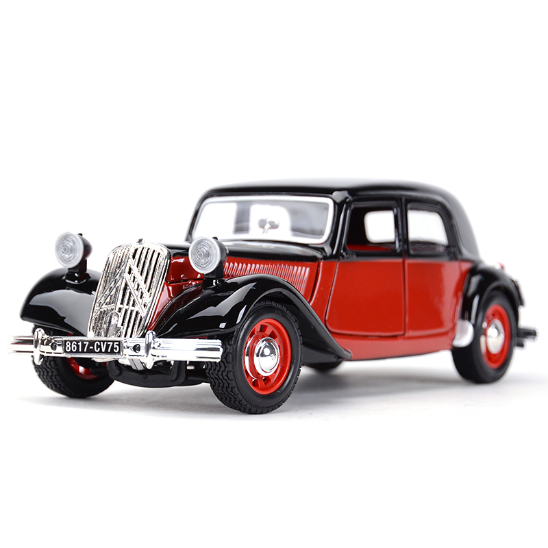 Coche clásico Bburago 1:24 1938 Citroën 15 Cvta, coche de aleación estática, modelo de coche Cubierta de parabrisas de coche LEEPEE, Protector contra el polvo antinieve, escudo contra el hielo, cubierta solar para coche, pantalla frontal para ventana, pantalla para parabrisas de coche