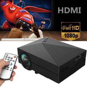 Projector Home Theater Media-Player Mini 1080P Multimedia LED 1000 LCD Beamer GM60 Lumens