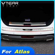 Vtear für Geely Atlas Emgrand NL-3 Proton X70 auto stamm tür sill abdeckung styling hinten schutz streifen stoßstange protector zubehör