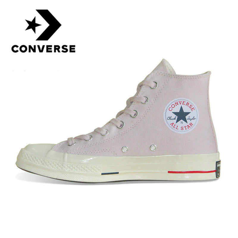 Original Converse 1970s All Star Canvas Shoes for Men and Women Unisex Retro High Sneakers Skateboards Shoes New Color Matching