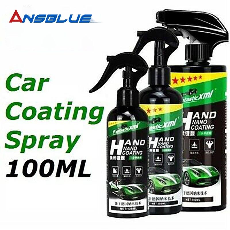 100ML Waterproof Stain-proof Car Coating Spray Hand Nano Coating Technology