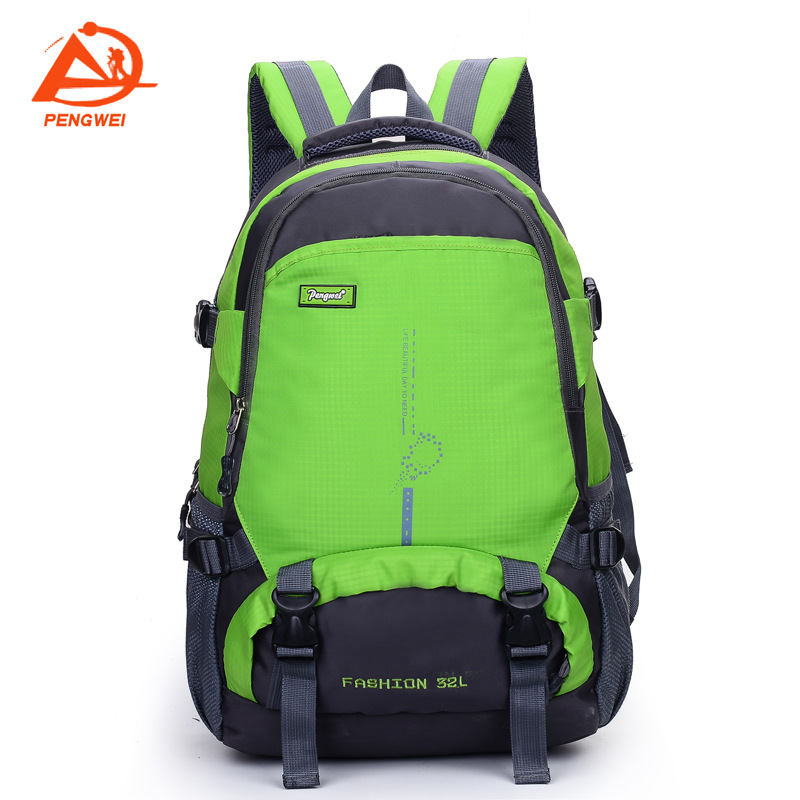 Hair ROC Power Outdoor Sports Mountain Climbing Hiking Riding Backpack Travel Mountain Climbing Bag 40L Capacity