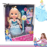 Disney Cinderella Princess Singing Doll Magic Wand Music Illuminated Action Character Child Girl Birthday Toy Christmas Gifts