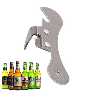 1PC narzędzia do gotowania w domu wielofunkcyjne piwo Jar otwieracz do butelek Bar winny koktajl otwieracz do puszek ze stali nierdzewnej akcesoria kuchenne tanie i dobre opinie OLOEY CN (pochodzenie) CDF-190621 Może otwieracze Ekologiczne STAINLESS STEEL