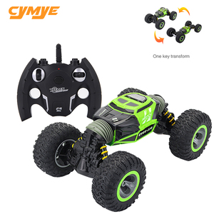 Image 1 - Cymye voiture radiocommandée 4WD Double face, 2.4GHz, une clé, Transformation, véhicule tout terrain, Varanid, camion descalade