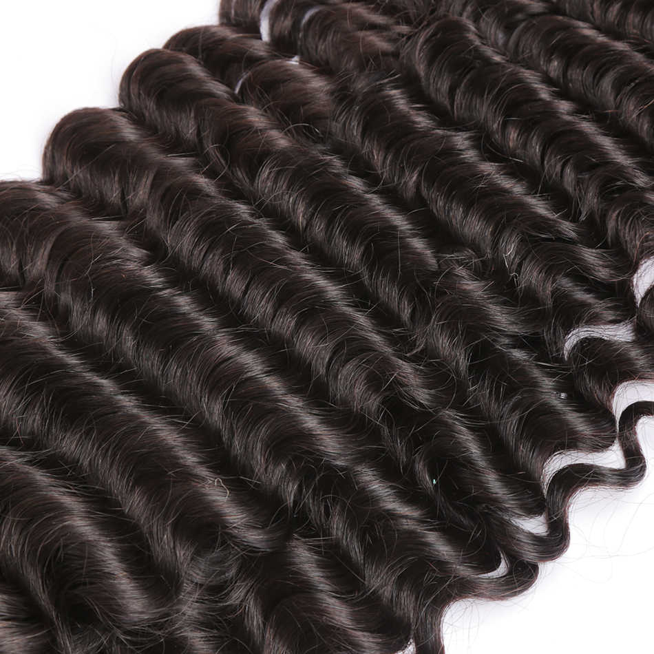 Poker Face Malásia Afro Kinky Curly 1/3/4 4bundles/Lote 100% Remy Do Cabelo Humano Weave Bundles cor Natural Frete Grátis