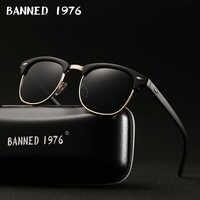 Gafas De Sol polarizadas HD UV400 para hombre y mujer gafas De Sol De marca retro clásicas gafas De Sol con revestimiento gafas De Sol masculinas