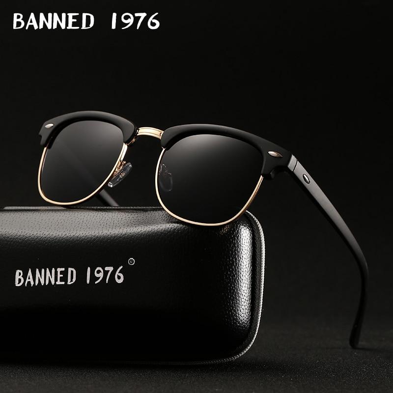 528.06руб. 44% СКИДКА|Поляризованные солнцезащитные очки UV400 HD для мужчин и женщин, классические модные ретро брендовые солнцезащитные очки с покрытием для вождения, солнцезащитные очки|men women sunglasses|brand sun glasses|brand sunglasses - AliExpress