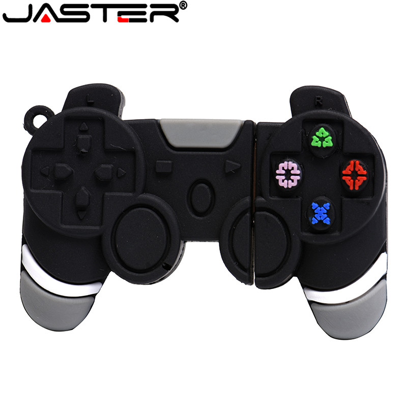 JASTER USB flash drive cartoon game handle pendrive2.0 4GB 8GB 16GB 32GB 64GB game controller usb pen driver driver holiday gift image
