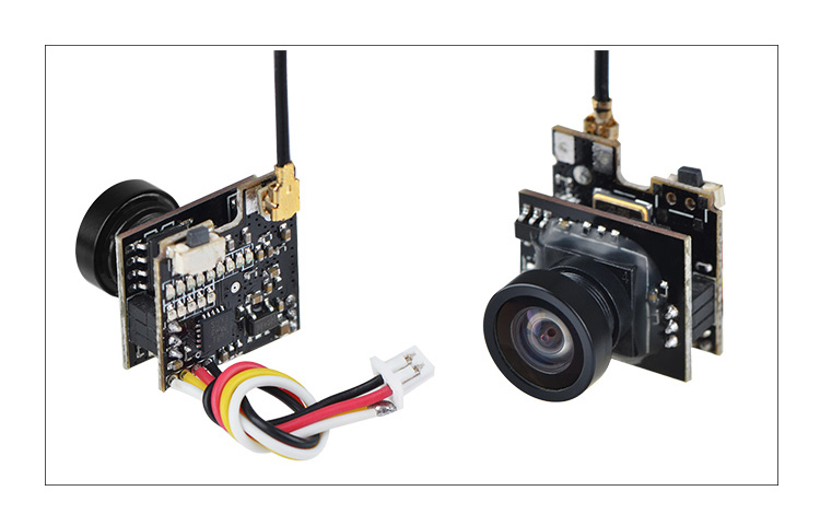 LST-S2+ 5.8G 25MW 40CH 800TVL Transmitter FPV AIO Micro Camera FPV Camera with OSD Spare Parts