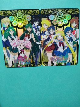 Sailor Moon zabawki Hobby Hobby kolekcje kolekcja gier karty Anime tanie i dobre opinie TAKARA TOMY Q975 8 ~ 13 Lat 14 lat i więcej 2-4 lat 5-7 lat Chiny certyfikat (3C) Zwierzęta i Natura Fantasy i sci-fi
