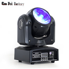 Lyre Beam Moving Head LED 60W Spotlight High Quality Mobile Lamp RGBW 4In1 For Dmx Stage Lighting Disco Dj Light