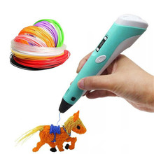 2020 New DIY HandMade Toys 3D Pen Printing Pen Creative Toy For Kids Design Drawing Educational Toys Birthday Gifts For Children new electric robot spider model toy diy educational 3d toys assembles toys kits for kids christmas birthday gifts