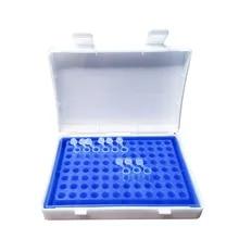 8 x 12 Array Deep Blue PCR Tube Rack for 0.2ml Micro-Tubes
