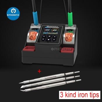 Xsoldadura Pro T210, estación de soldadura sin plomo, calentamiento rápido, potencia de 220W, 2.5S, soldador Universal JBC 210 245, punta de mango 2
