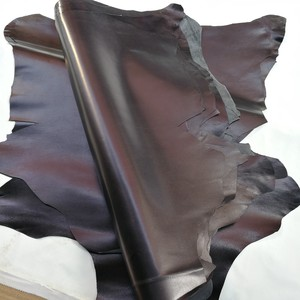 black washed goat real grain leather quality A grade genuine leather soft sheep skin whole spelt leather for gloves clothing