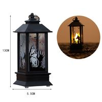 3 Pcs Halloween LED Candle Lantern, Flameless LED Tea Lights Candle Battery Operated Fake Candles Halloween Decoration Party