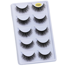 WOMELL 5Pairs Lashes 3D…