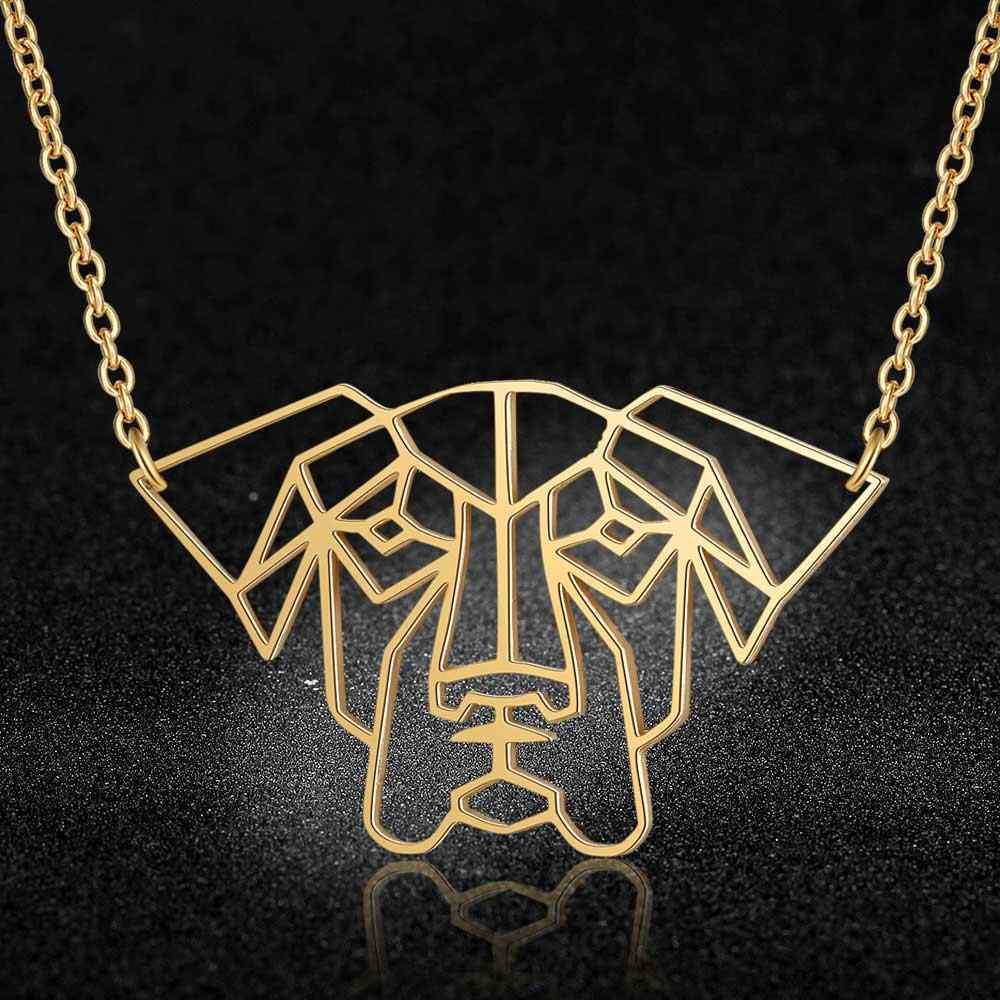 100% prawdziwe dla psów ze stali nierdzewnej naszyjnik specjalny prezent Trend biżuteria naszyjniki unikalny biżuteria dla zwierząt naszyjnik Super jakość