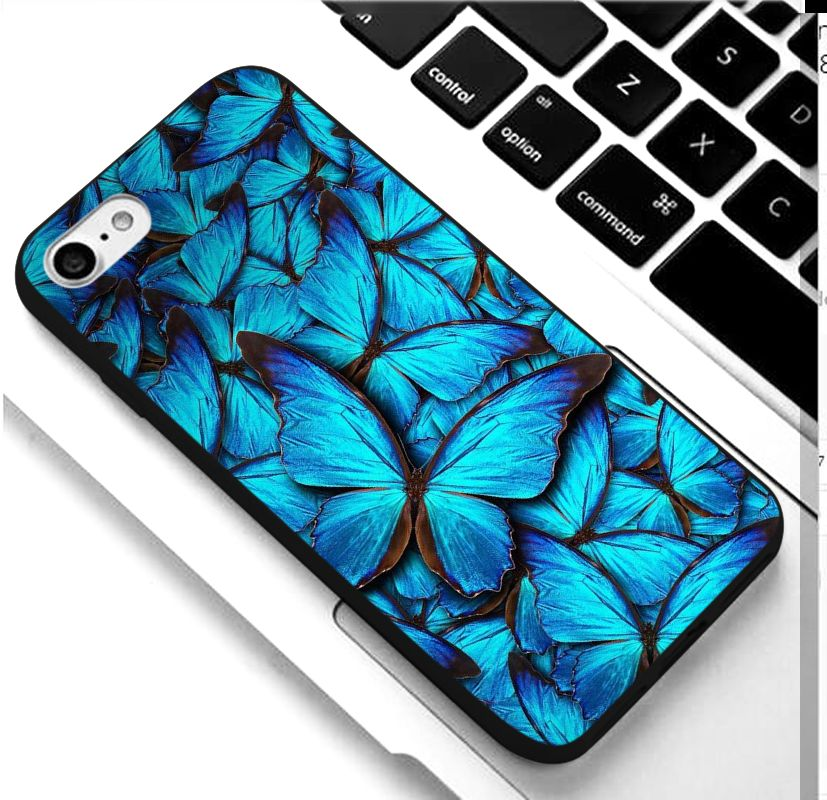 Clear monarch butterfly iphone 11 pro case for iphone x xs max xr 11 pro 5 5s se 8 76 s plus ins premium ins soft fundas cover coque