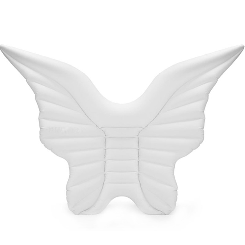 Giant Inflatable Angel'S Wing Butterfly Pool Float With Rapid Valves Summer Outdoor Swimming Pool Party Lounge Raft Decorations