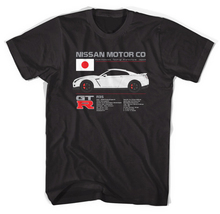 R35 Gtr Niss, Skyline, Cars, Drift, Drag, Race, Import, Jdm, R33, R34, R32 2019 Summer Style High Quality Tops Tee T Shirts
