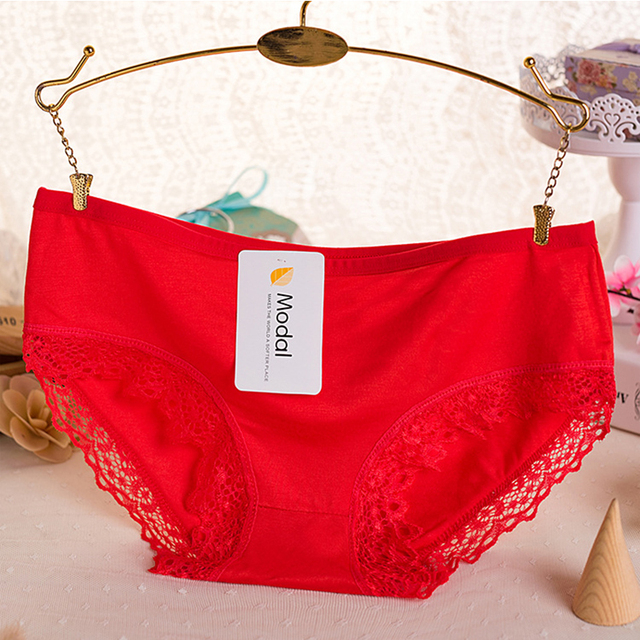 1PC haute qualité coton femmes populaire sous-vêtements en dentelle offre spéciale Sexy bambou charbon Fiber haute élasticité culottes sous-vêtements